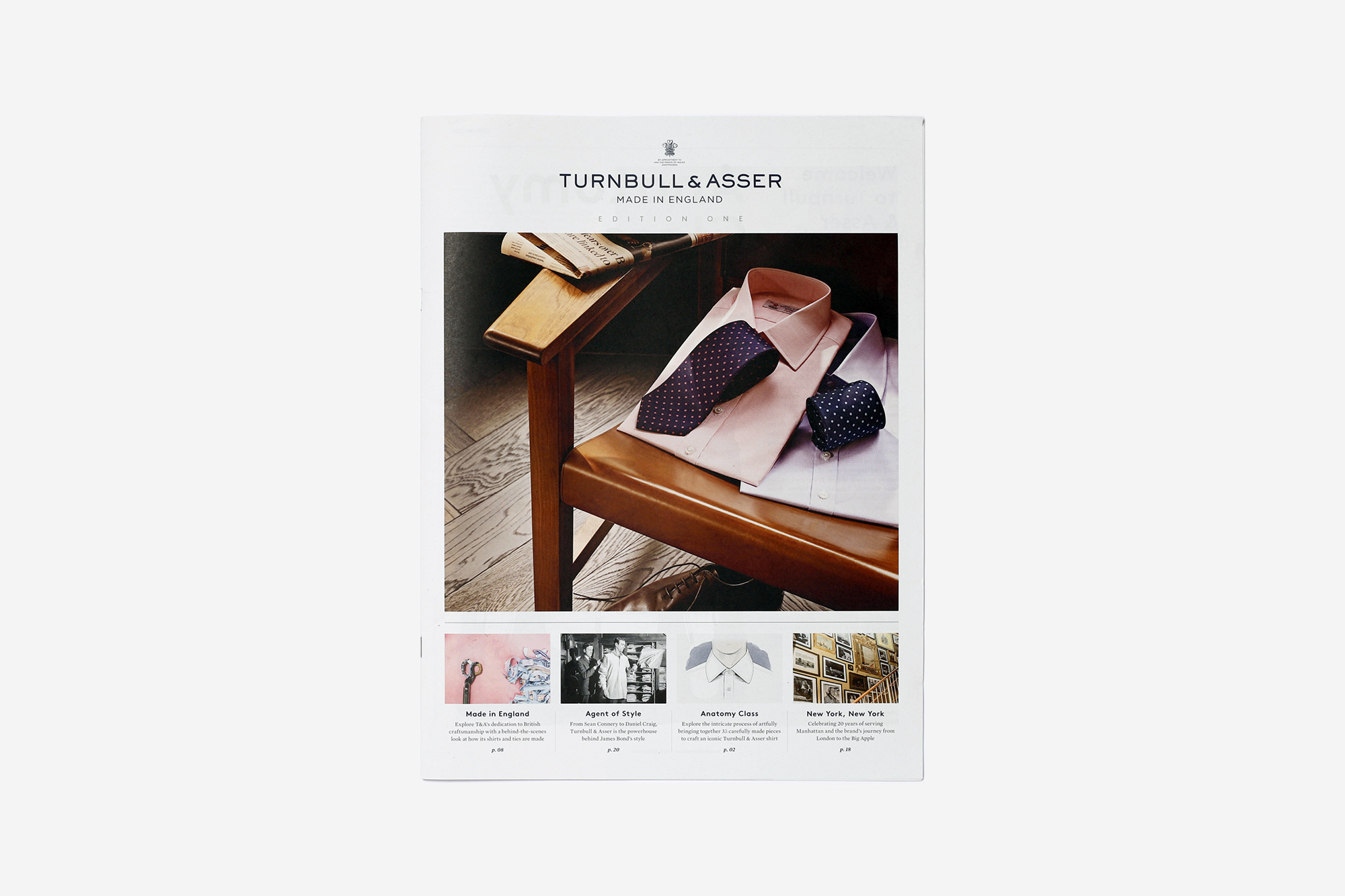 Turnbull & Asser newspaper
