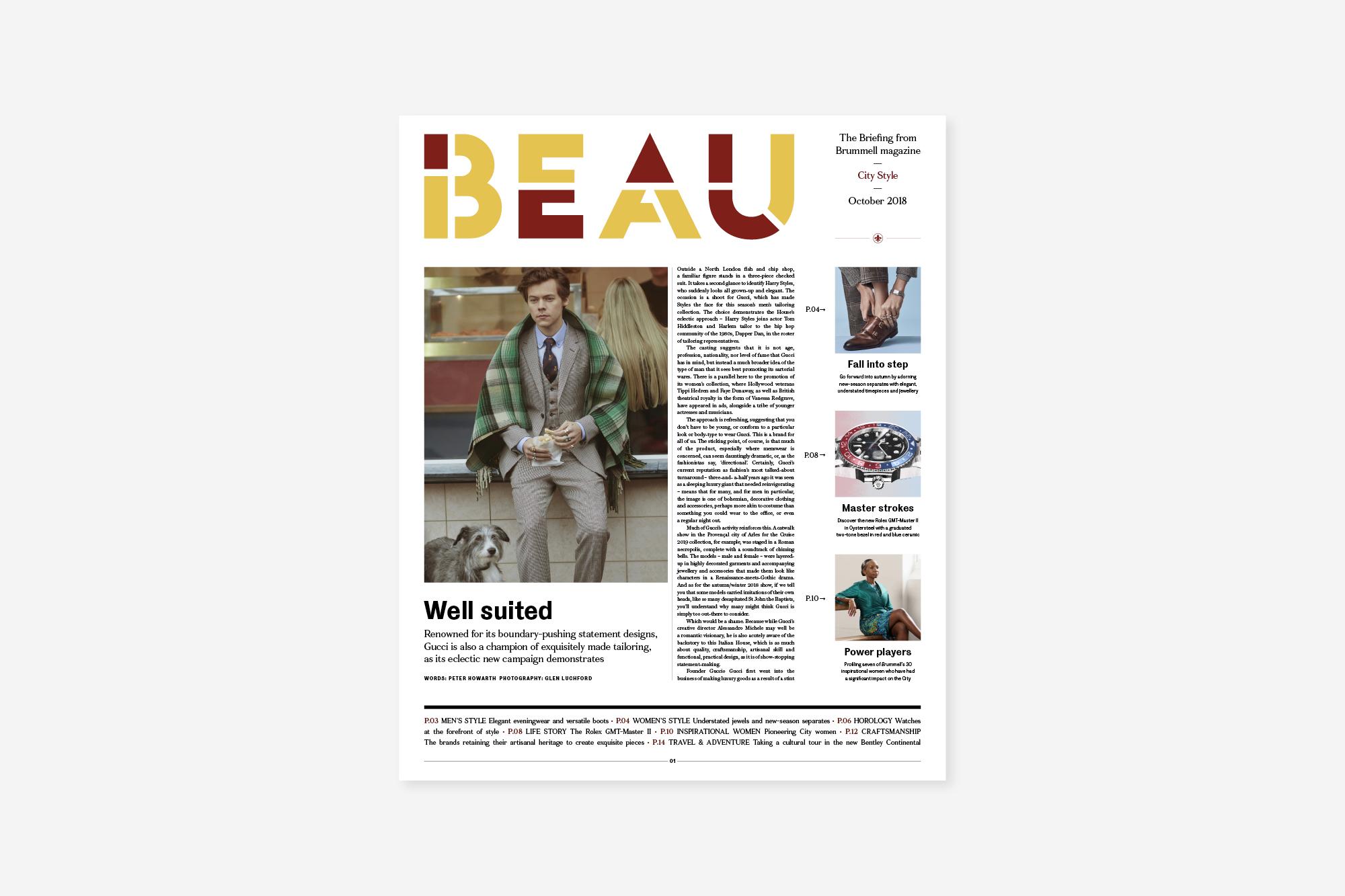 Beau October
