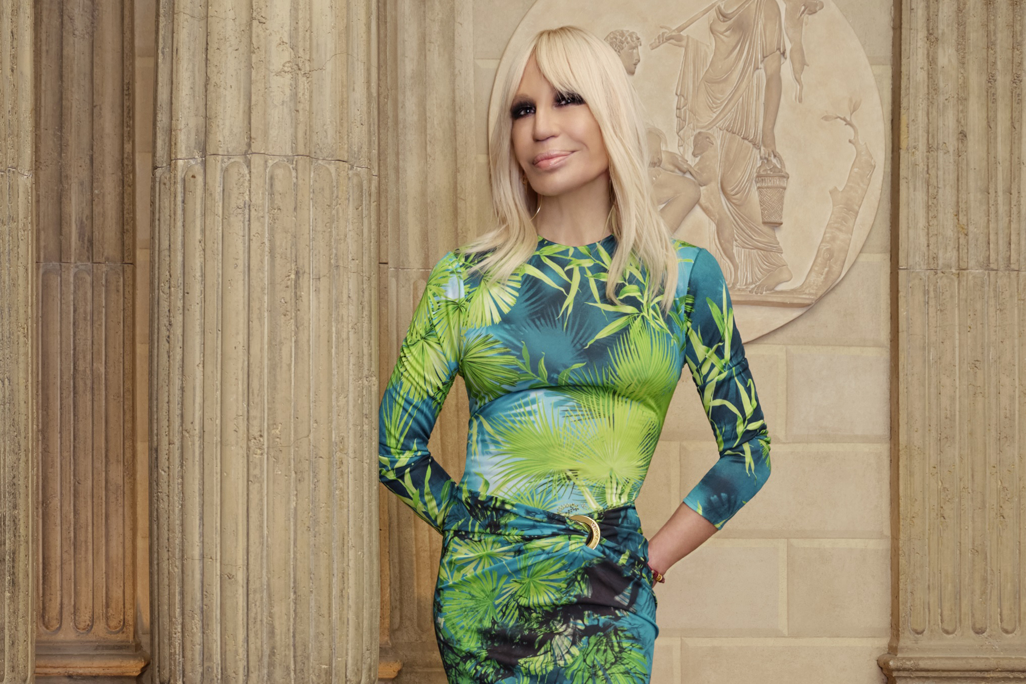 Peter Howarth's interview with Donatella Versace for Walpole