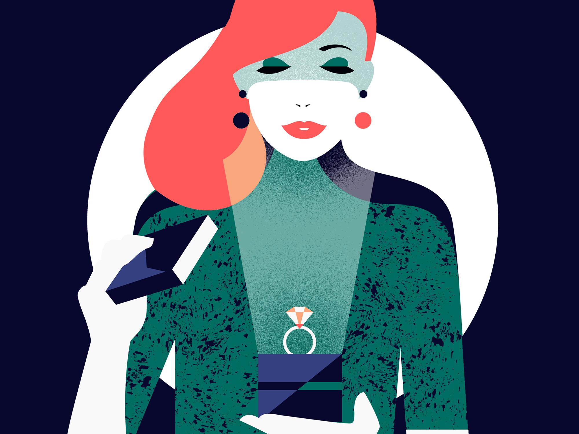 The Royal Exchange Tiffany illustration